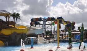 Big but not TOO big… Take the family to our favorite Splashway Waterpark & Campground!