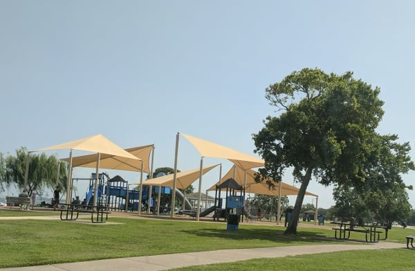 Sylvan Beach Pier and Park Playground