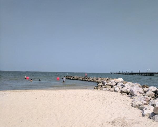 Sylvan Beach La Porte Pier and Park