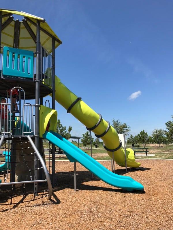 John Paul Landing Park Slides
