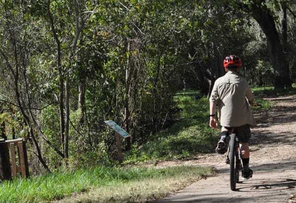 Brazos Bend State Park Camping Trail