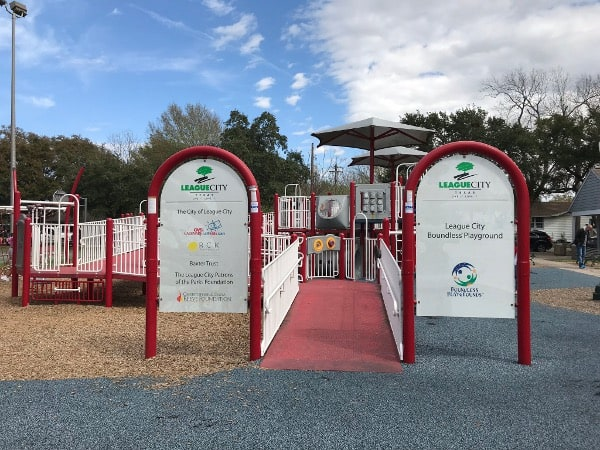 League Park Houston Parks for Kids of All Abilities