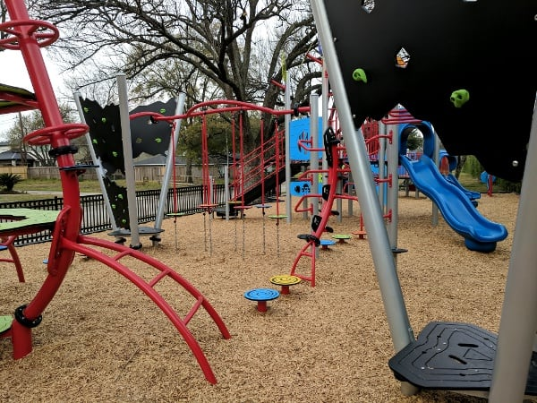 Ware Park Ninja Warrior Playground