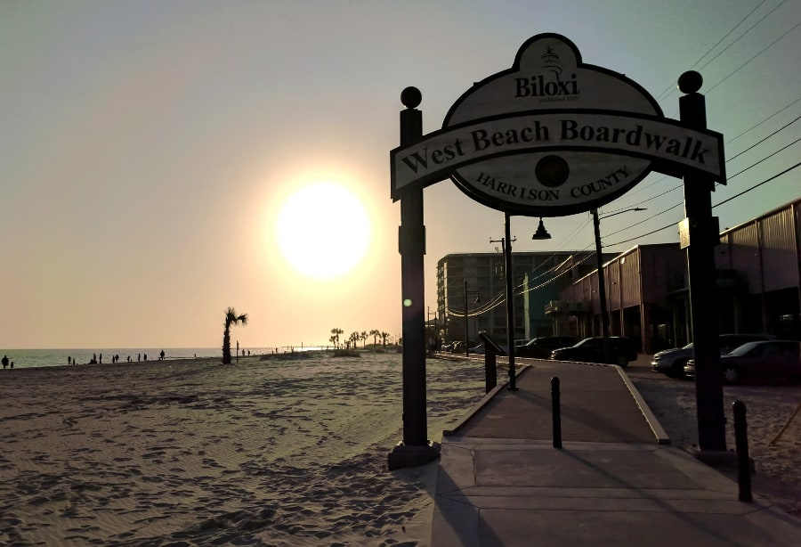 What to see between Houston and Pensacola Beach.. Biloxi