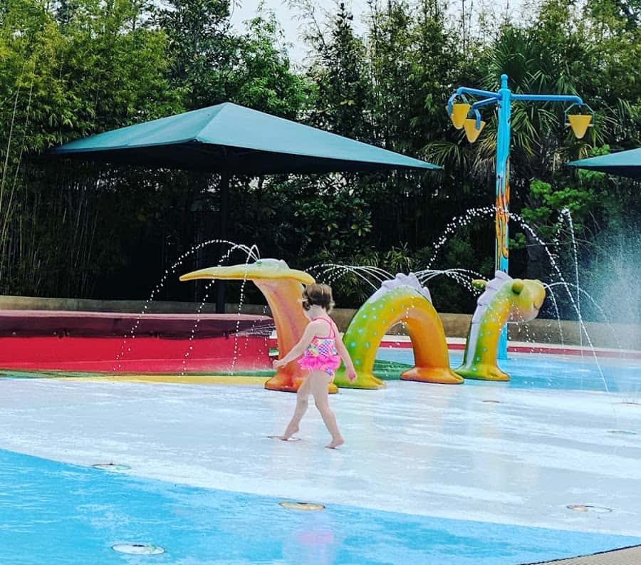 Houston Zoo Splash Pad