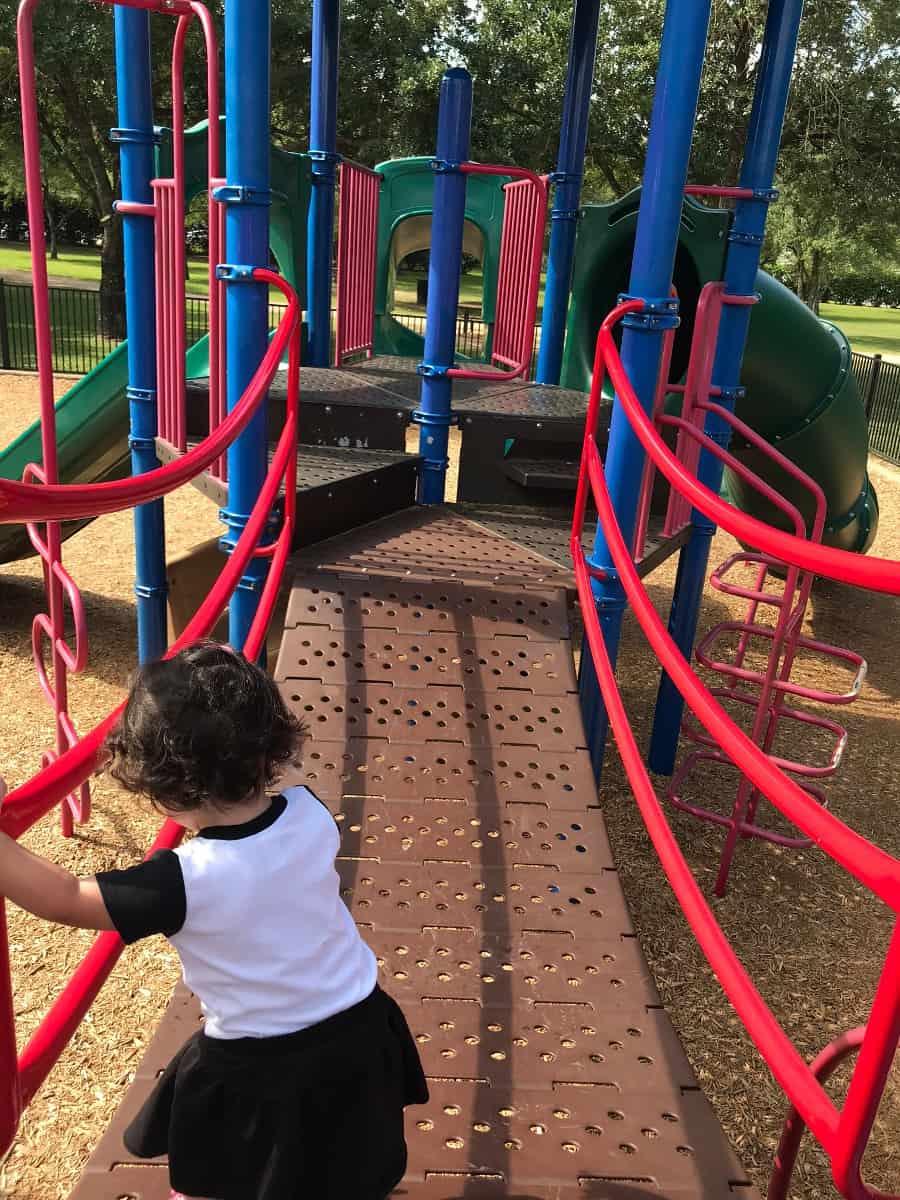 Bridge Playground at Ray Miller