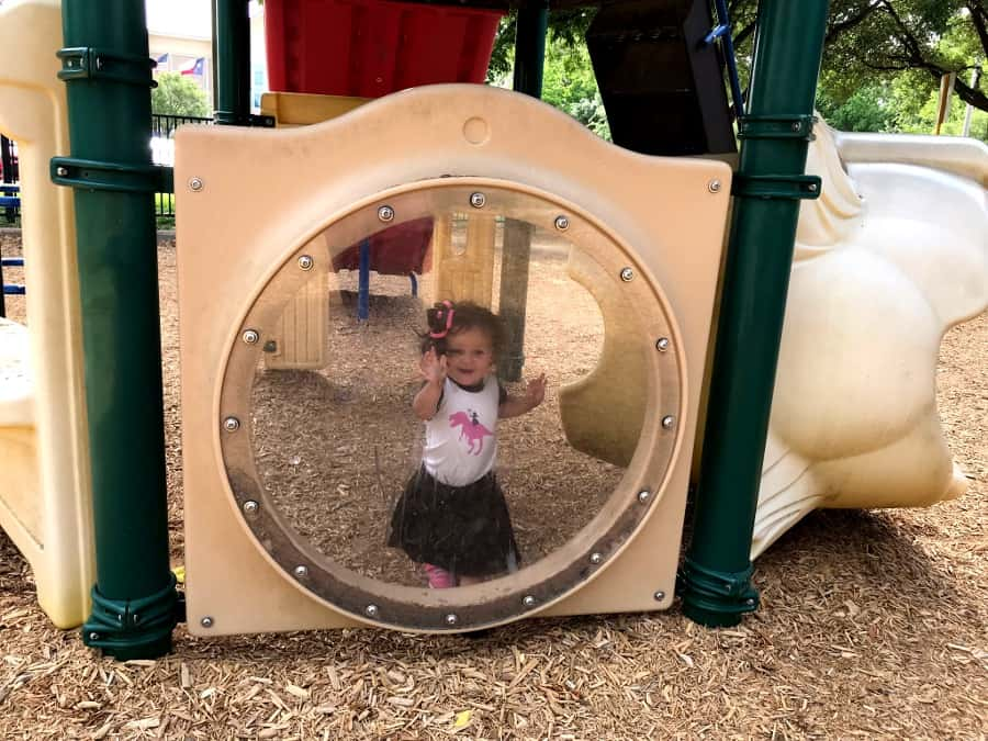 tot at Playground
