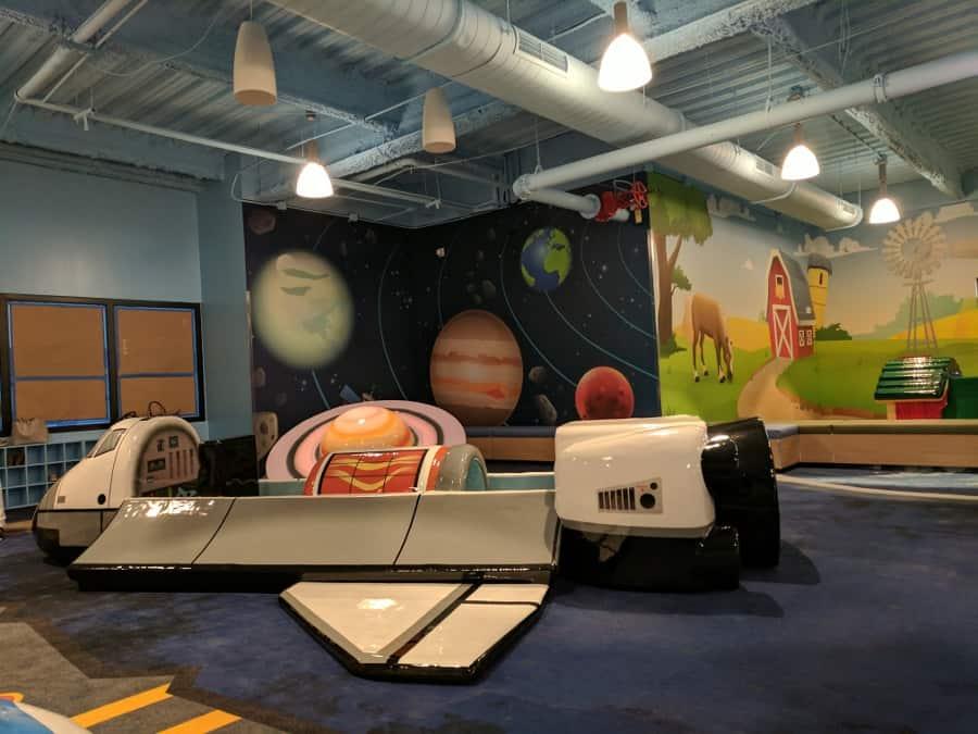 Second City, Indoor Kids Playground… at Second Baptist