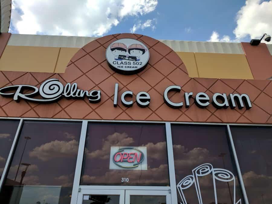Rolled Ice Cream Houston