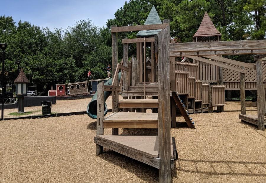 Donovan Park Wooden Playground
