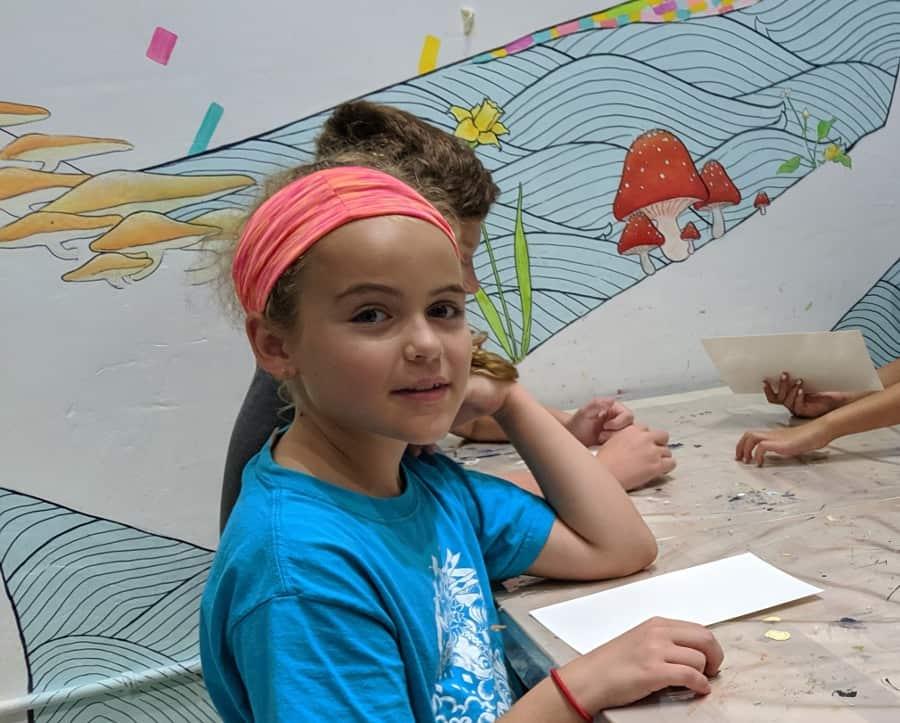 Art Class at Honey Art Cafe