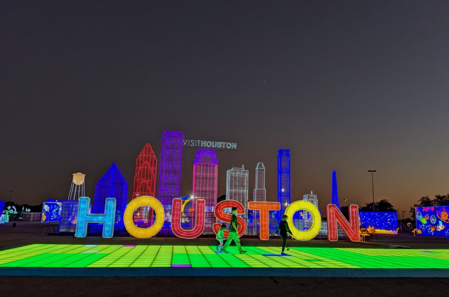 Magical Winter Lights Houston