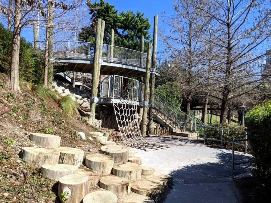 Nature Playground at Buffalo Bayou