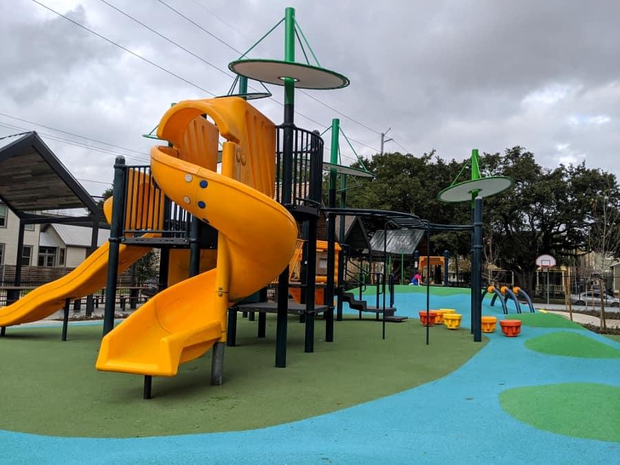 Dow Elementary Park Slide