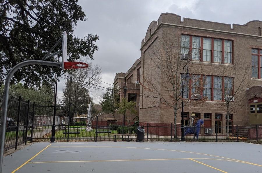 Dow Elementary Park Basketball Court