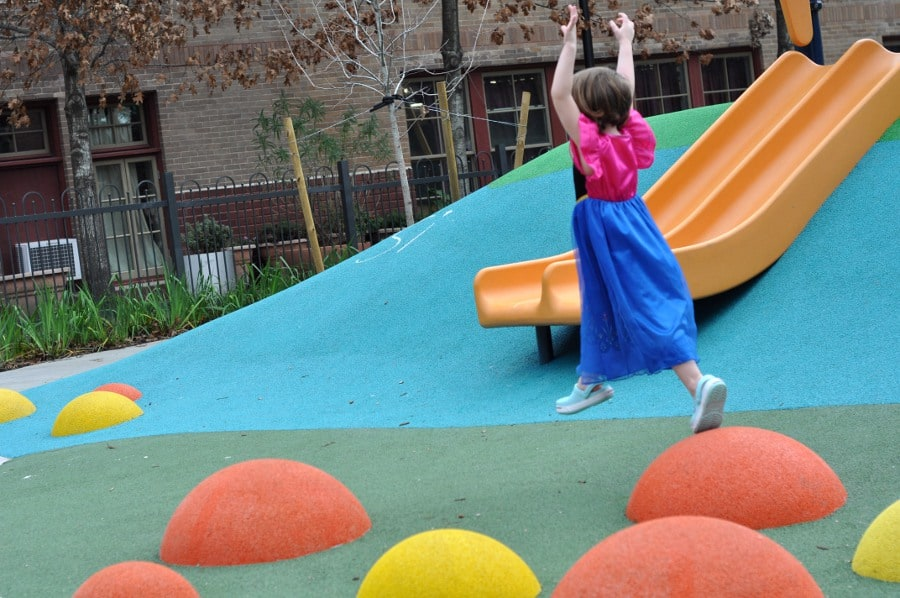 Dow Elementary Park Jumping Pads