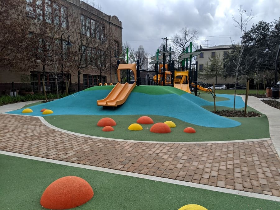 Dow Elementary Park Play Area
