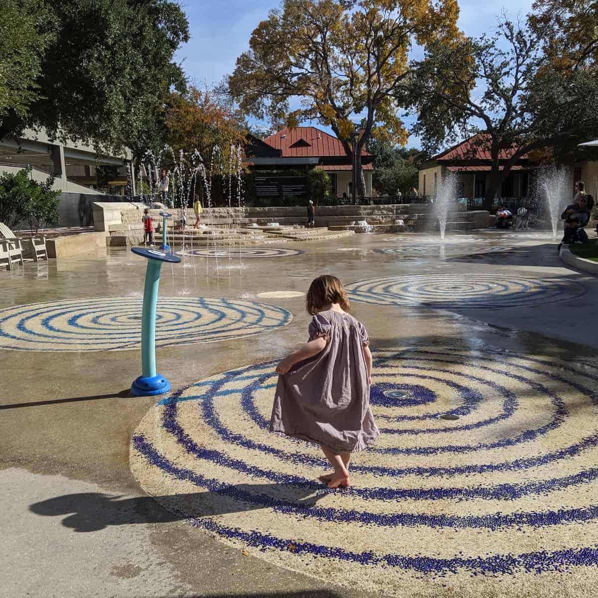 San Antonio Hemisfair Park Splashpad