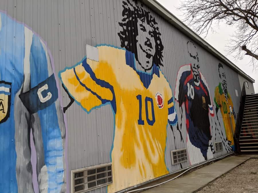 Toros Soccer Mural