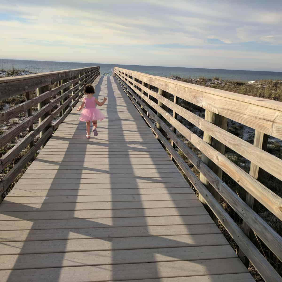 Pensacola Beach Florida Dune Bridge