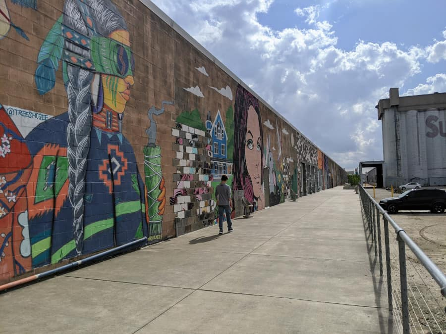 Art Alley at Sawyer Yards
