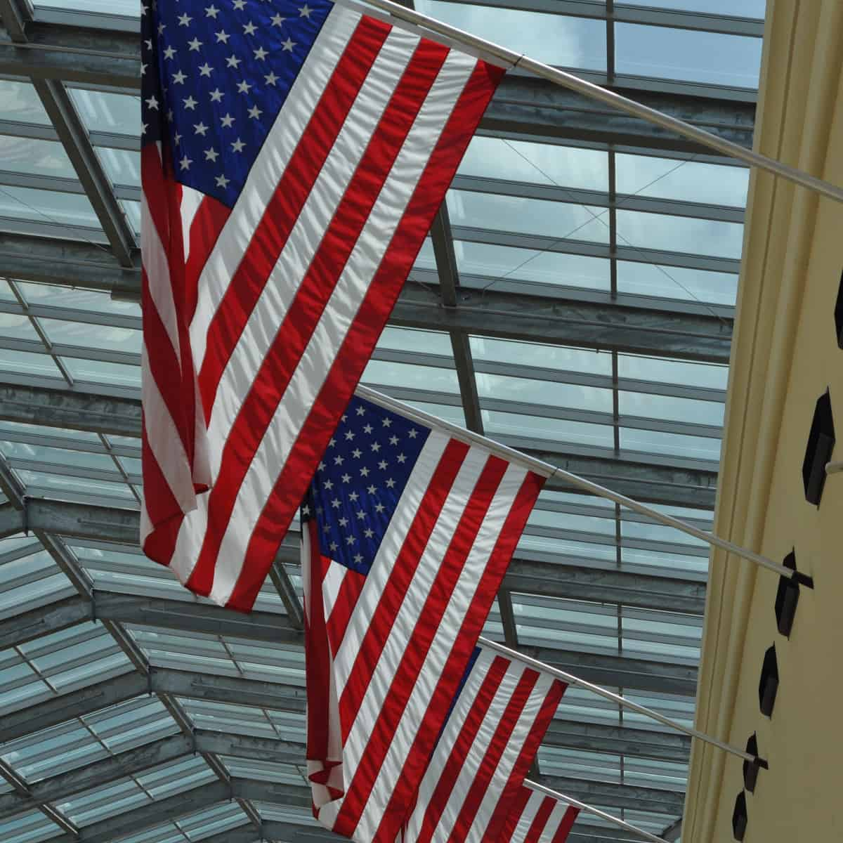 American Flags for 4th of July