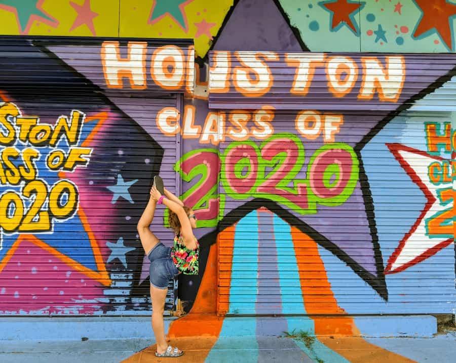 Houston Graffiti Building Houston Murals