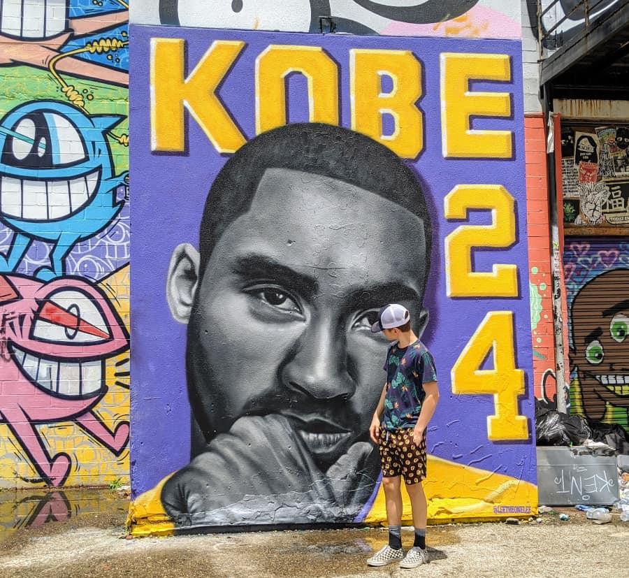 Kobe Mural Houston