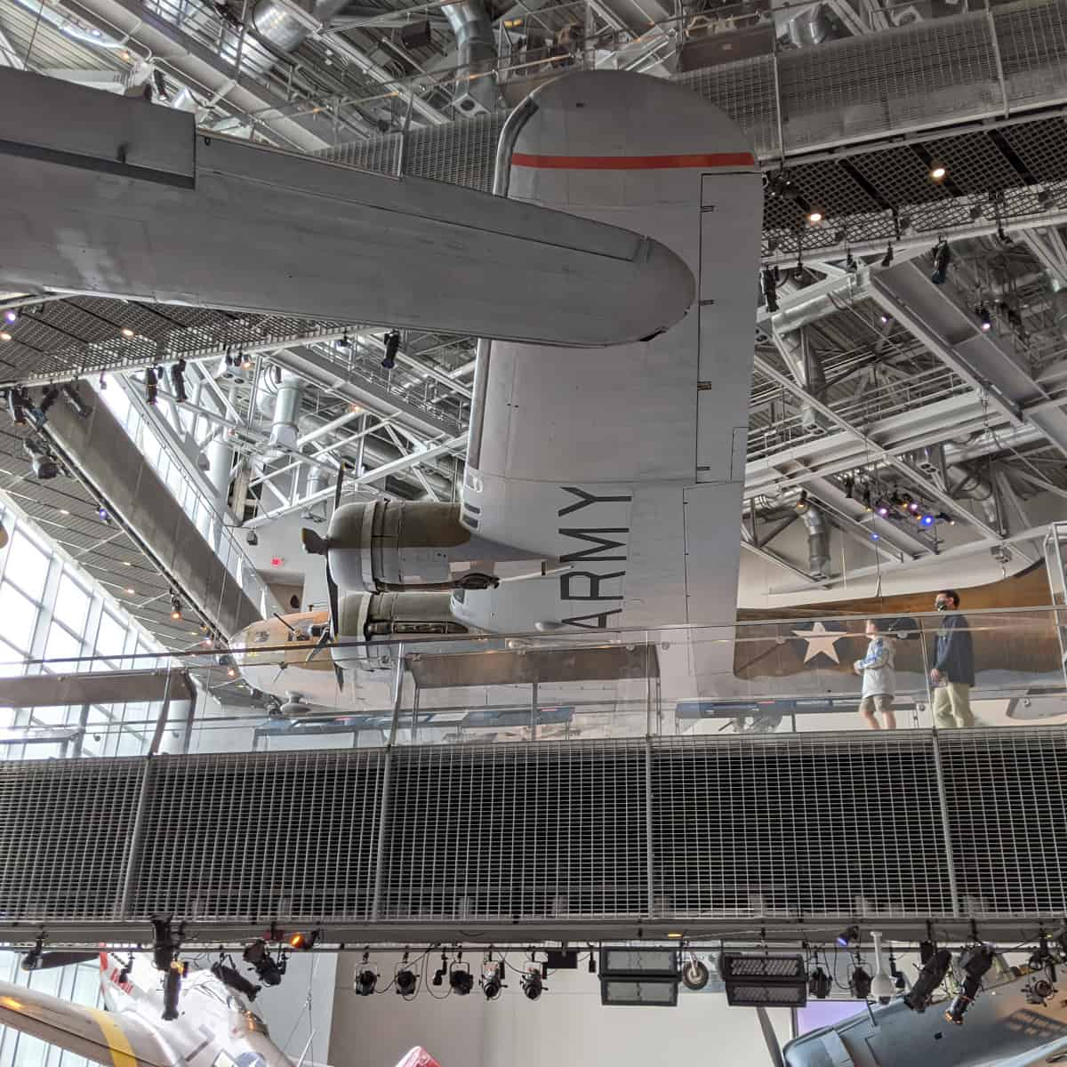 National WWII Museum New Orleans Planes