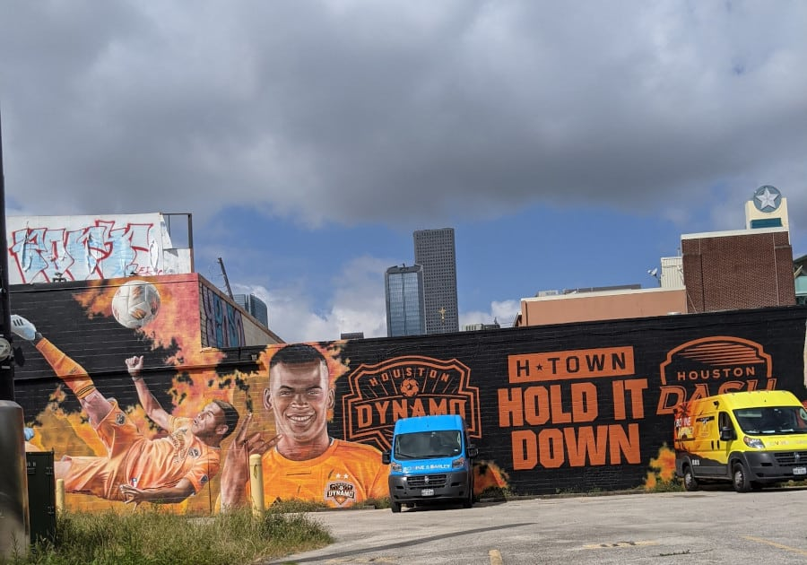Houston Mural Map: Hold It Down