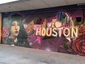 Selena Mural near Washington Avenue