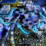 Lazy River Lights at Marriott Marquis Houston