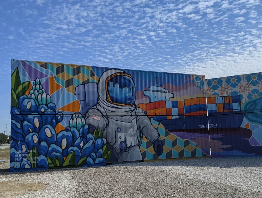 East River Mural Astronaut