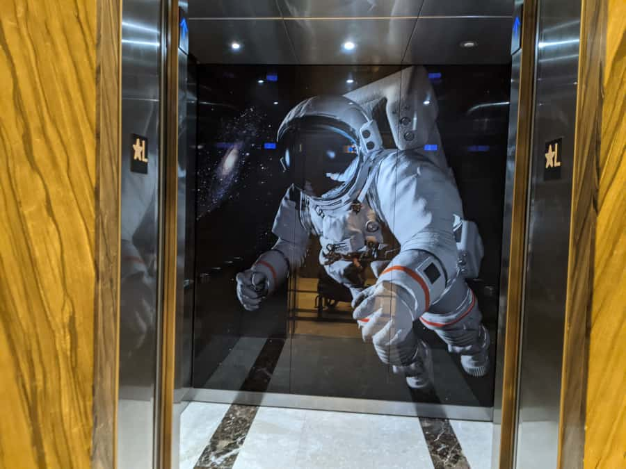 Marriott Marquis Houston Elevator