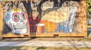Day of the Dead Mural Dia de los Muertos
