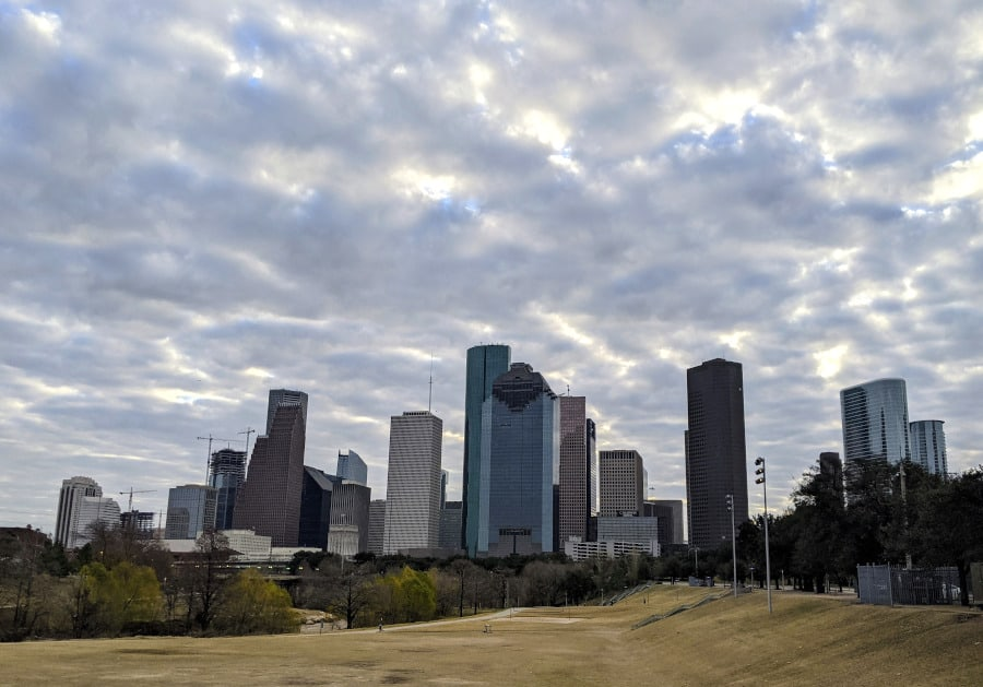 Eleanor Tinsley Park View of Downtown Houston