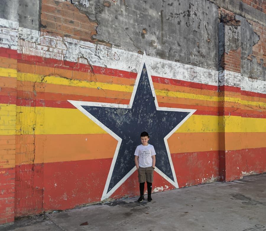 Astros Star Mural Houston