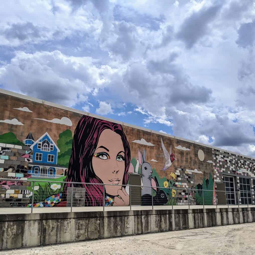 Art Alley Murals