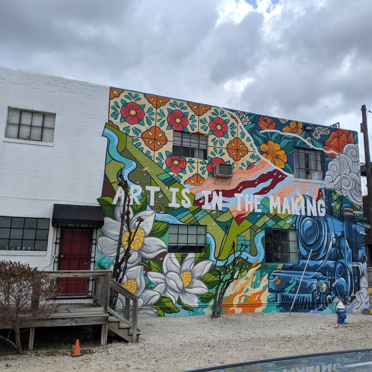 Art is in the Making Mural Arts District Houston