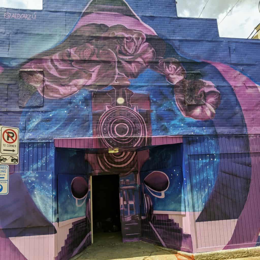 History a Dream Mural