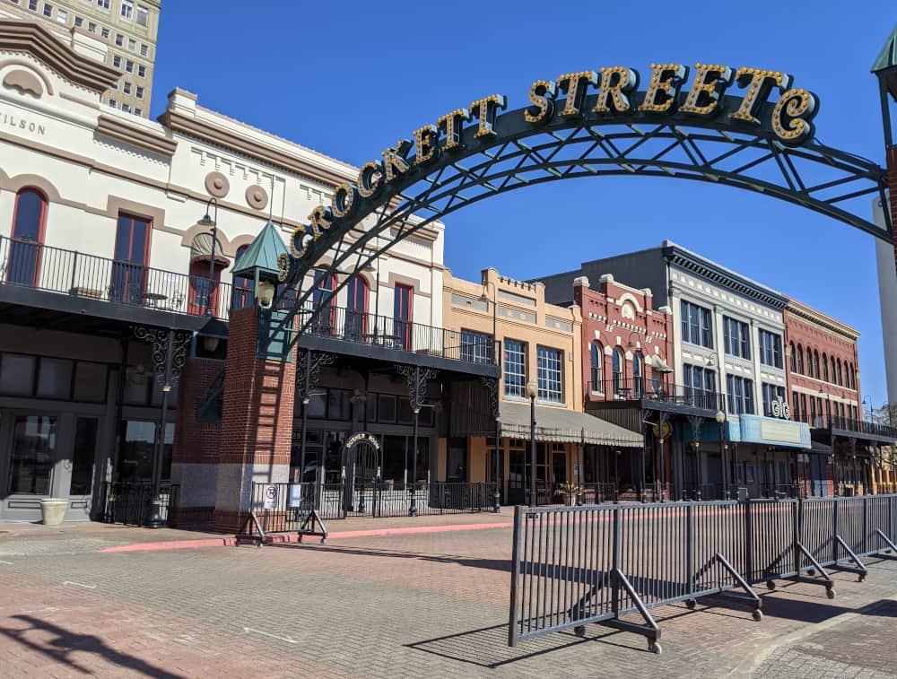 Crockett Street Downtown Beaumon