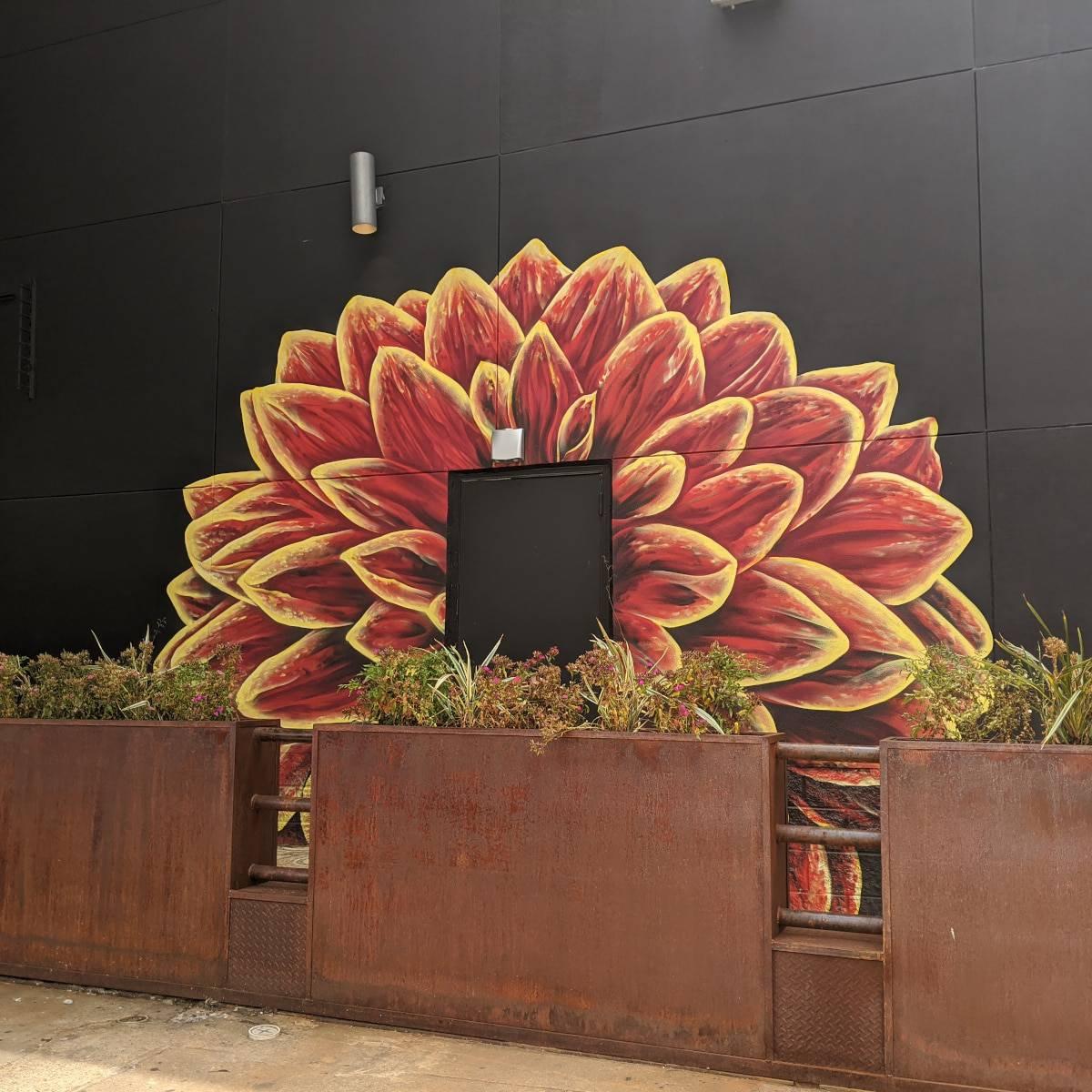 DahliaHTX Mural