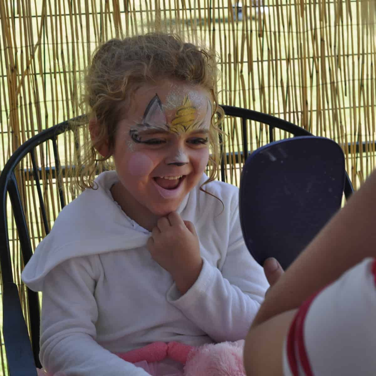 Face Painting at Birthday Party