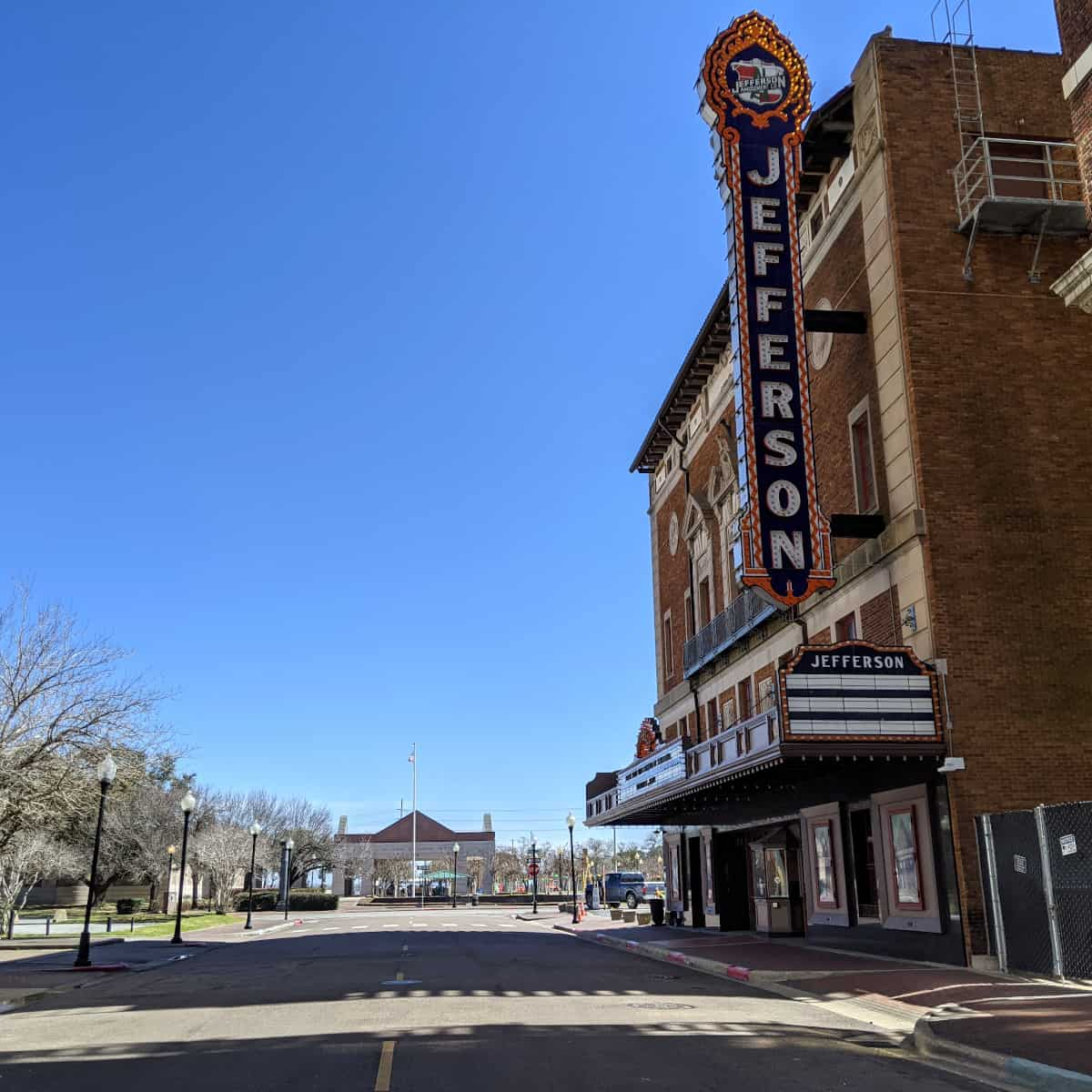 Jefferson Theater in Beaumont