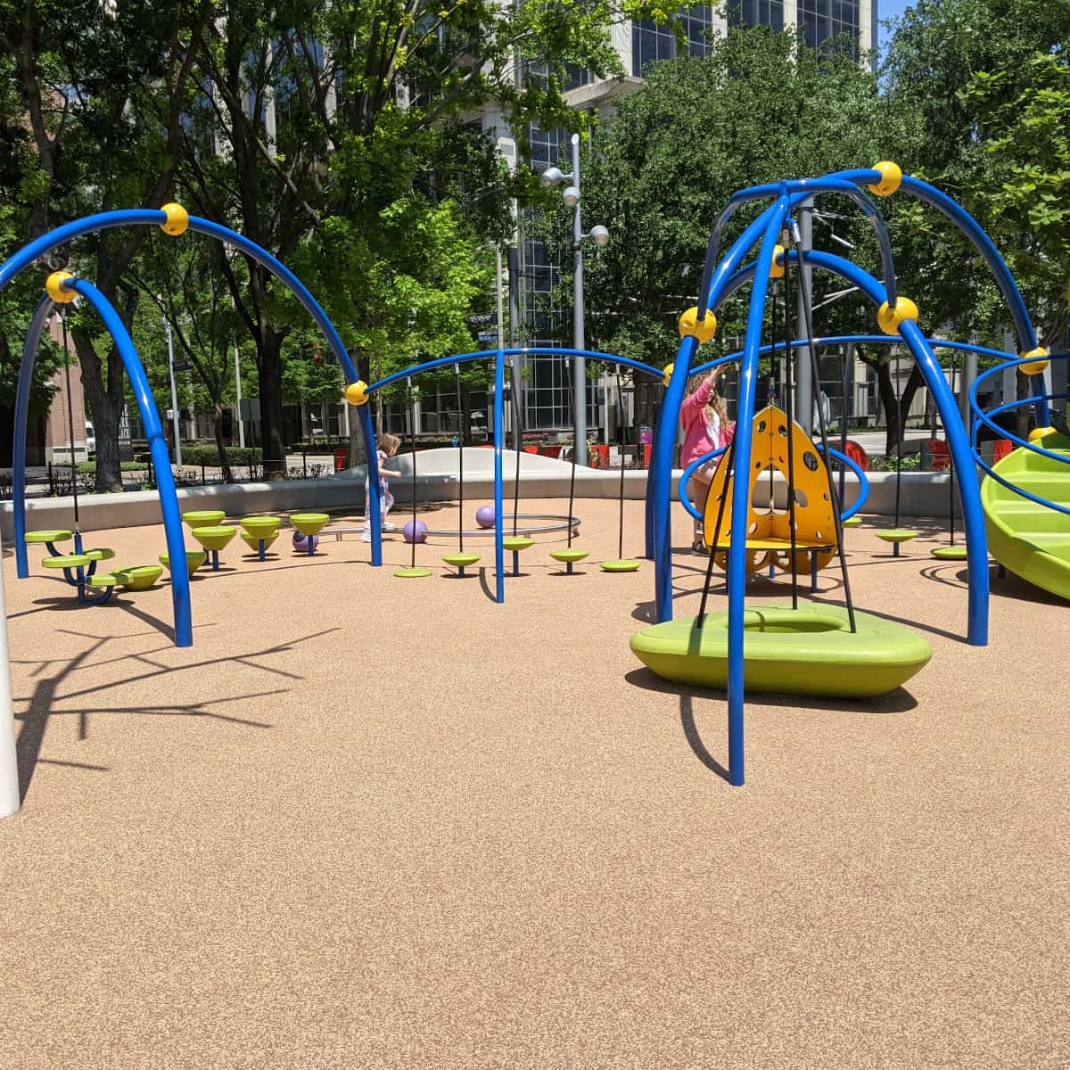 Discovery Green Toddler Playground