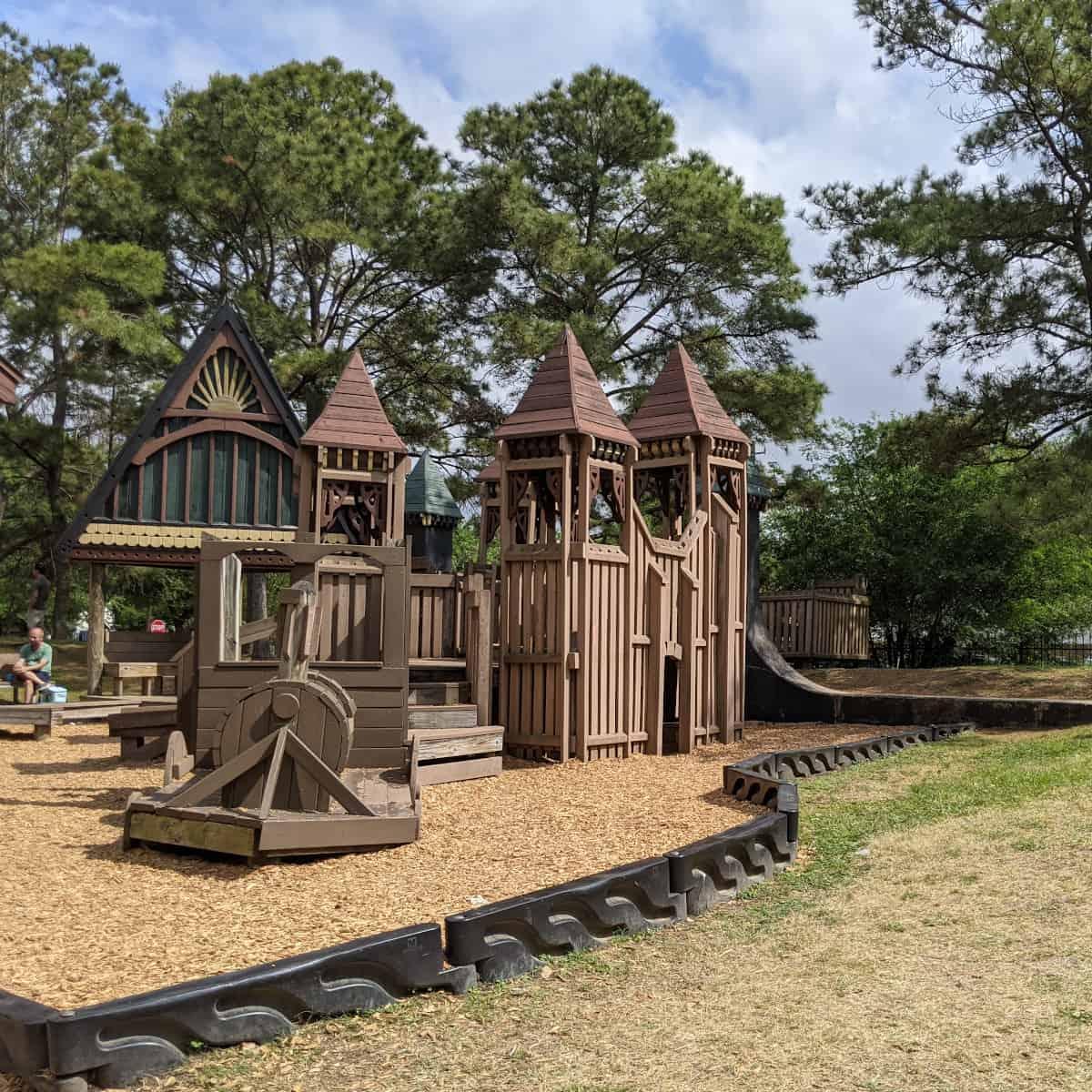 Donovan Park Train Playground