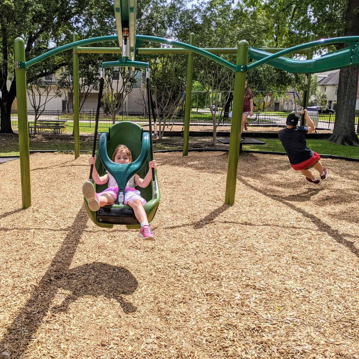 Evergreen Park Zipline