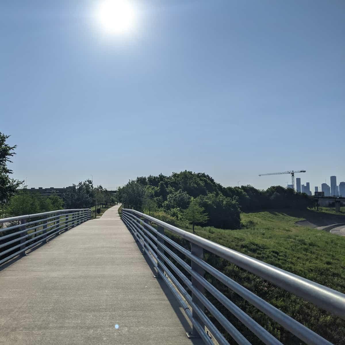 Heights Trail at White Oak Bayou
