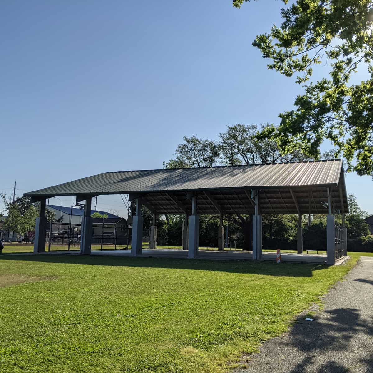 Basketball Pavilion at Lawrence Park