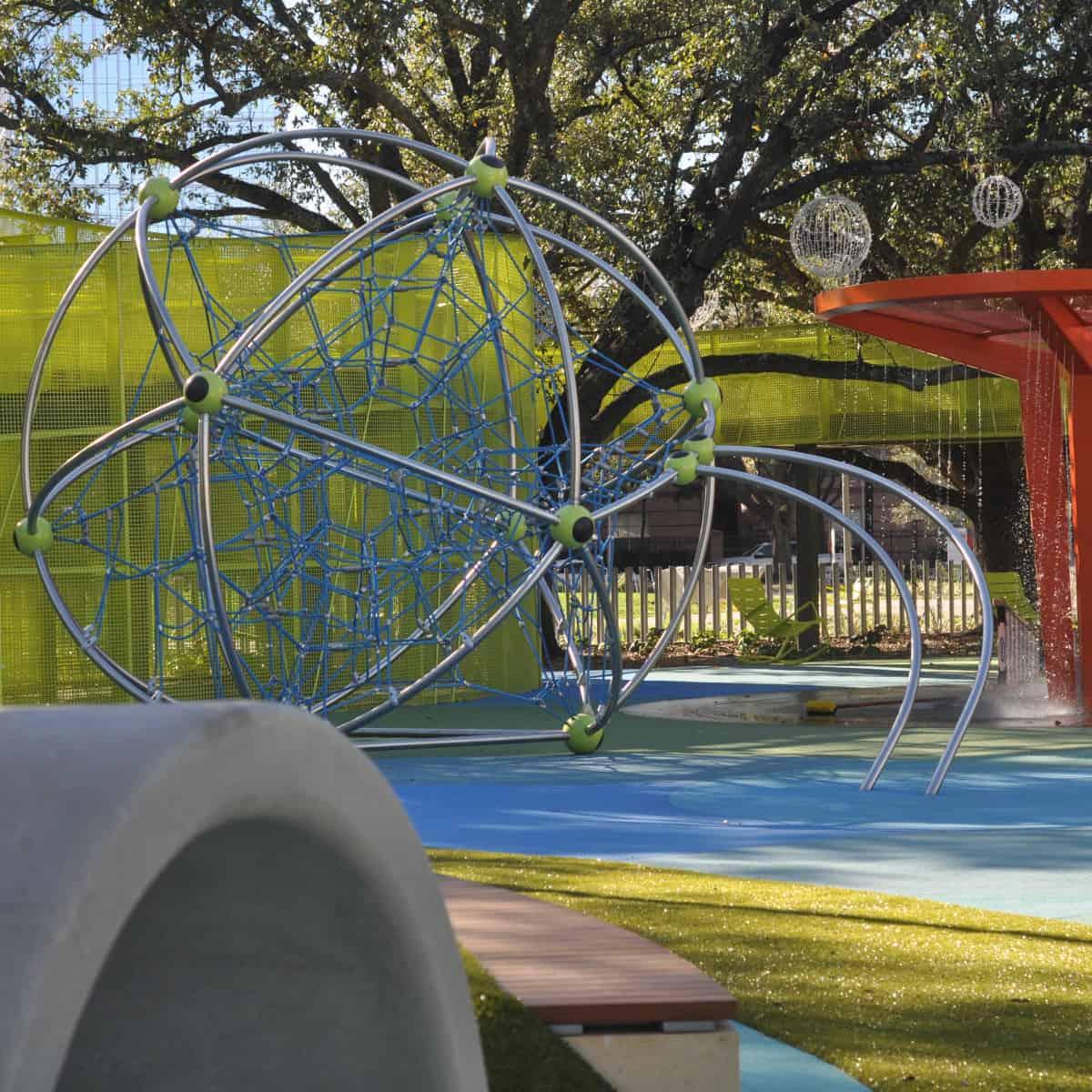 Levy Park Spiderweb